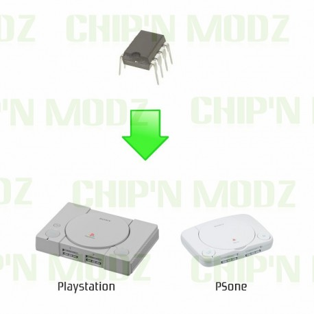 "Installation puce ""Multimode 3.0"" PS1 & PSone"