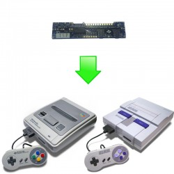 Installation MOD Switchless Super Nintendo - SUPER CIC, uIGR & PATCH D4