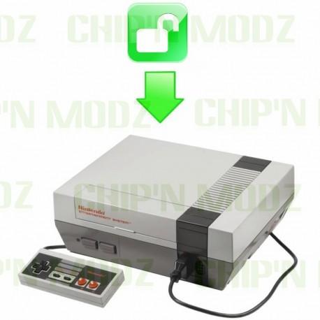 Dézonnage Nintendo NES