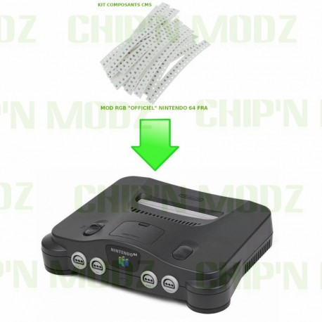 "Installation Mod RGB ""officiel"" Nintendo 64"