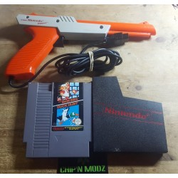 Super Mario Bros / Duck Hunt + Pistolet Zapper