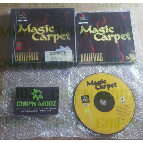 Magic Carpet - Complet - Playstation (PsOne)