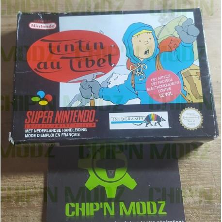 Tintin au Tibet - En boite, sans notice - Version FAH