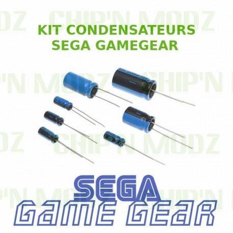 Kit de condensateurs pour réparation SEGA Gamegear