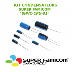 Kit condensateurs Super Famicom SHVC-CPU-01