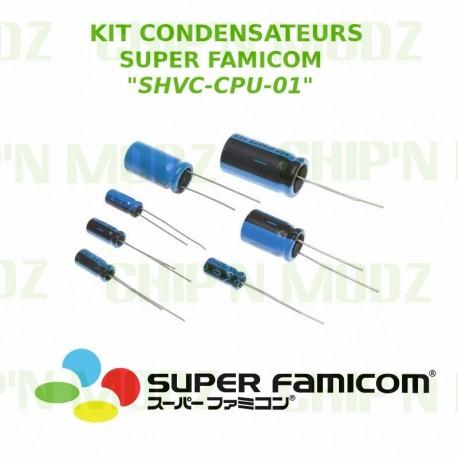 Kit condensateurs Super Famicom SHVC-CPU-01