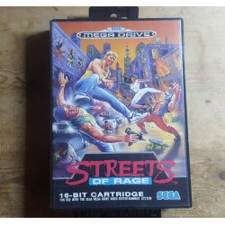 Street Of Rage - Complet - Version PAL