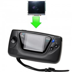 Installation écran LCD McWill GameGear (McWill Original Rev3)