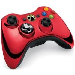 Manette Xbox 360 sans fil Rouge - Édition limitée - Occasion
