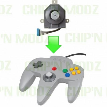 Réparation Joystick Manette Nintendo 64