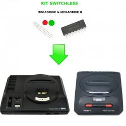 Installation Mod Switchless Megadrive - Dézonnage intégral & Jeux PAL en 60Hz