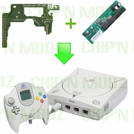 Installation PCB GD-IDE Dreamcast