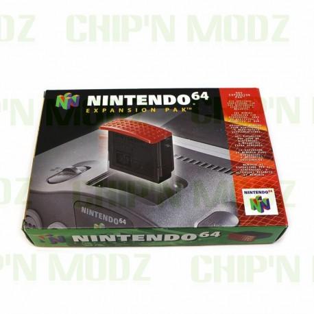 Expansion Pack (RAM PACK) Nintendo 64 - En boite, complet