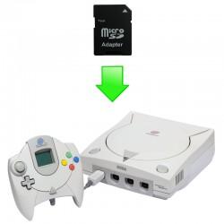 "Installation ""MOD SD"" Dreamcast"