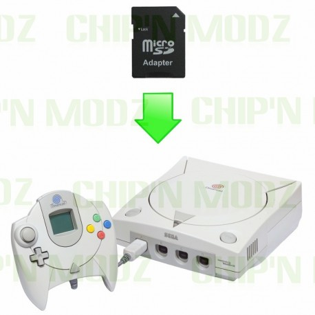 "Installation ""MOD SD"" Dreamcast"