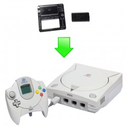 Installation Bios Dreamshell / Freezone Dreamcast (PCB NEW BIOS)