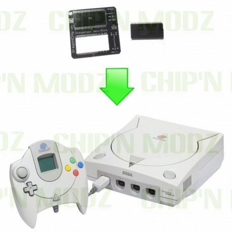 Installation PCB New Bios + Bios Dreamshell Dreamcast