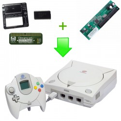 Installation PCB G1-ATA + Bios Dreamshell (PCB New Bios) Dreamcast