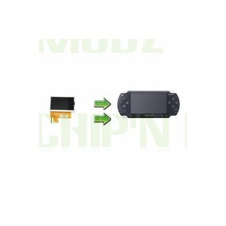 Réparation écran LCD PSP 1000