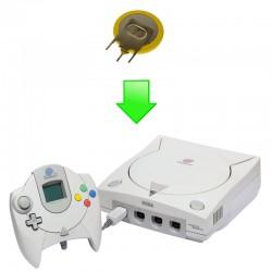 Remplacement pile bios Dreamcast
