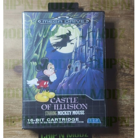 Castle Of Illusion Starring Mickey Mouse - Complet - Très Bon état