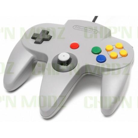 Manette Nintendo 64 Officielle - Couleurs au choix