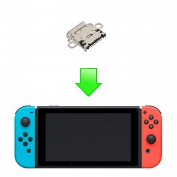 Réparation connecteur USB-C Switch