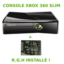 Xbox 360 Slim 250 Go - GLITCH HACK - occasion