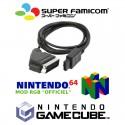 "Câble RGB Gamecube, Super Famicom, N64 ""MOD RGB Officiel"""