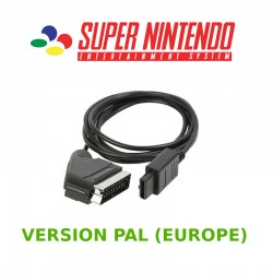 Câble RGB Super Nintendo PAL