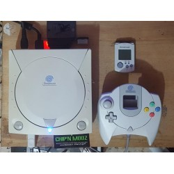 Dreamcast GD-IDE SATA + Bios Dreamshell + Mod SD