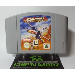 Star Wars: Rogue Squadron- En loose - Nintendo 64, Version Française (PAL) - Bon état