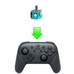 Réparation Joystick (Interne) Manette Pro Switch