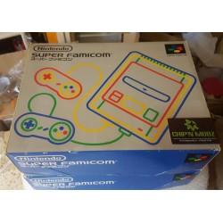 Super Famicom Switchless - Super CIC, uIGR & Patch D4 -En boite