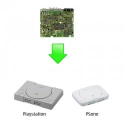 Remplacement carte mère complète - Playstation / PSone