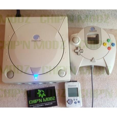Dreamcast G1-ATA SATA + Bios Dreamshell + Mod SD