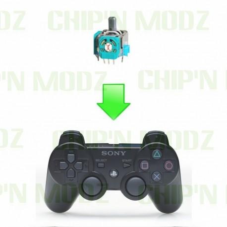 Réparation Joystick (interne) manette PS3
