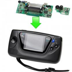 Remplacement carte mère / écran + carte son - Sega Gamegear
