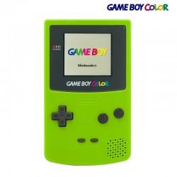 Game Boy Color - Vert Pomme - Bon état, vitre neuve