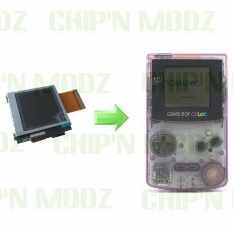 Installation écran LCD McWill Gameboy Color - Écran LCD nouvelle génération !