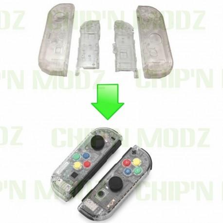Installation coque custom Joy-con Switch (Paire)