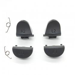 Gâchettes L1 L2 / R1 R2 Manette PS4 v2, gris - Avec ressorts