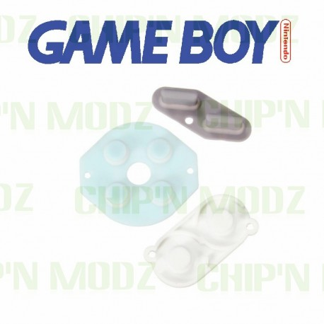 Caoutchoucs contacts boutons GameBoy DMG-01
