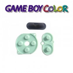 Caoutchoucs contacts boutons GameBoy Color