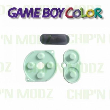 Caoutchoucs contacts boutons GameBoy Color