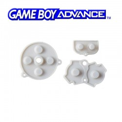 Caoutchoucs contacts boutons GameBoy Advance