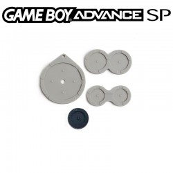 Caoutchoucs contacts boutons GameBoy Advance SP