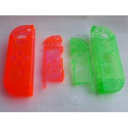 Coques rouge / verte transparentes Joy-Con Gauche & Droit