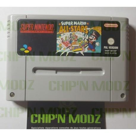 Super Mario All Stars - Super Nintendo - En loose - Bon état