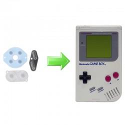 Réparation boutons Gameboy - Remplacement caoutchouc interne - Tous modèles